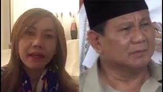 """Emak2 sembur Prabowo yg bilang jangan jd ojek, hrs jadi pengusaha. """"Trus caranya gimana ?,"""" katanya"""
