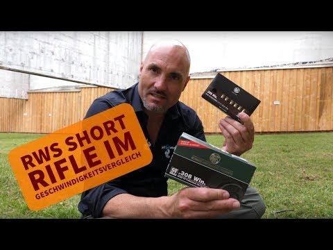 RWS Short Rifle Test: RWS Short Rifle  vs. Standardmunition im Vergleich!
