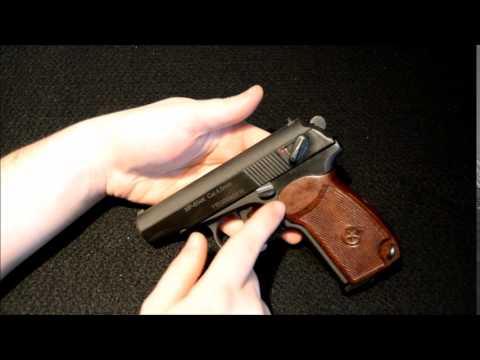 Generation 5 Baikal Makarov MP-654K 4 5mm Co2 Air Pistol Review