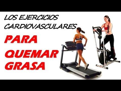 Los ejercicios cardiovasculares para quemar grasa y perder Hierbas para bajar de peso y quemar grasa