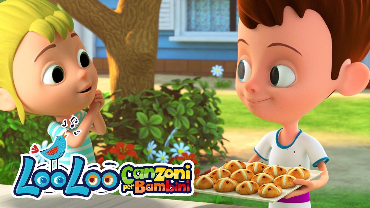 Un, due pagnotte - Impara i numeri - Canzoni per bambini LooLoo Italiano