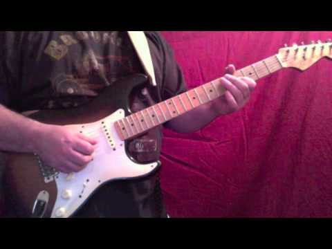 how to play come as you are solo on guitar