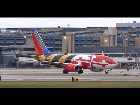 (HD) MSP Mish-Mash - Plane Spotting Minneapolis / St. Paul International Airport