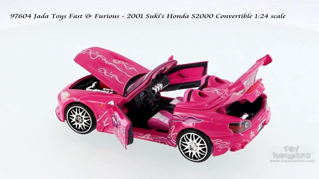 Suki`s Honda S2000 pink Fast and /& Furious 2 1:24 Jada
