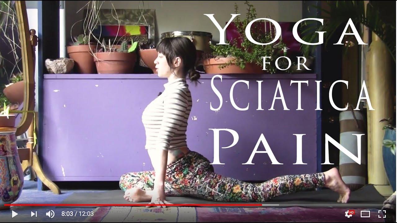 Yoga for Sciatica Pain - Jen Hilman - YouTube