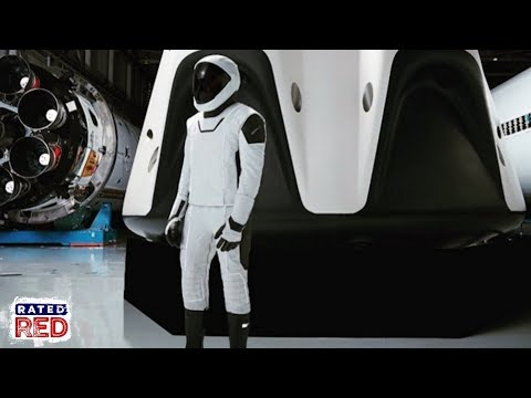 The New SpaceX Suit Is Straight Out of the Movies