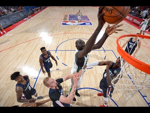 Tacko Fall Is The Last Player You Want To Take A Charge From | NBA Summer League