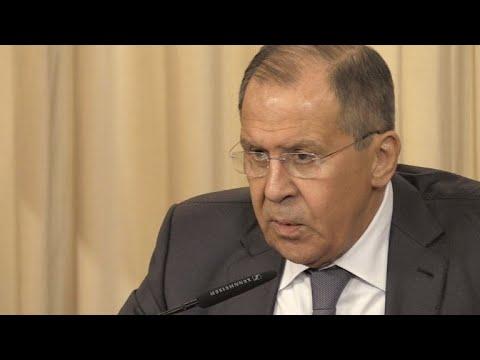 Lavrov pede aos EUA liberdade de russa
