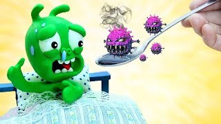 Healing For PEA PEA - Stop Motion Play Doh Cartoons