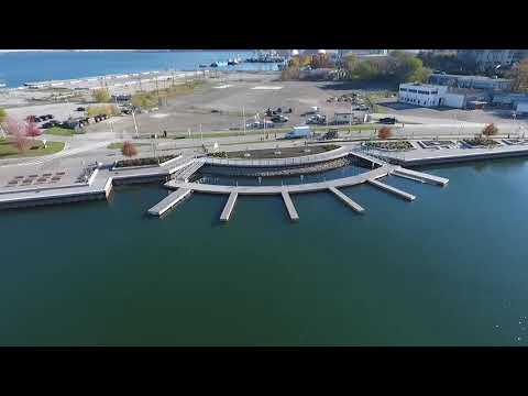 Hamilton Harbour West Marina with ThruFlow - Drone