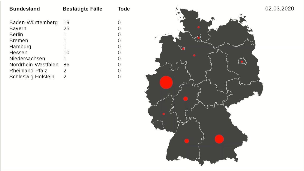 Coronavirus Karte Deutschland