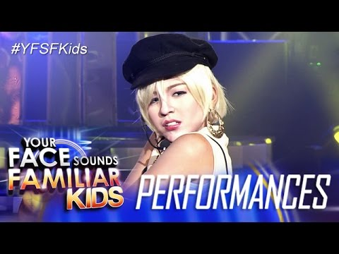 Your Face Sounds Familiar Kids: Sam Shoaf as Pink - Get The Party Started