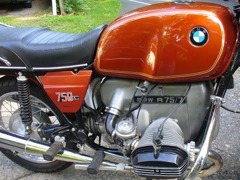 1977 BMW R75/7 SURVIVOR BURNT ORANGE METALLIC