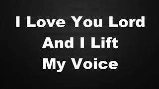 I Love You Lord Karaoke Instrumental Lyrics, Page 214