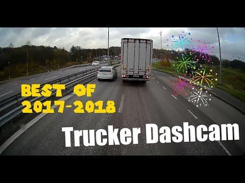 Trucker Dashcam BEST OF 2017-2018