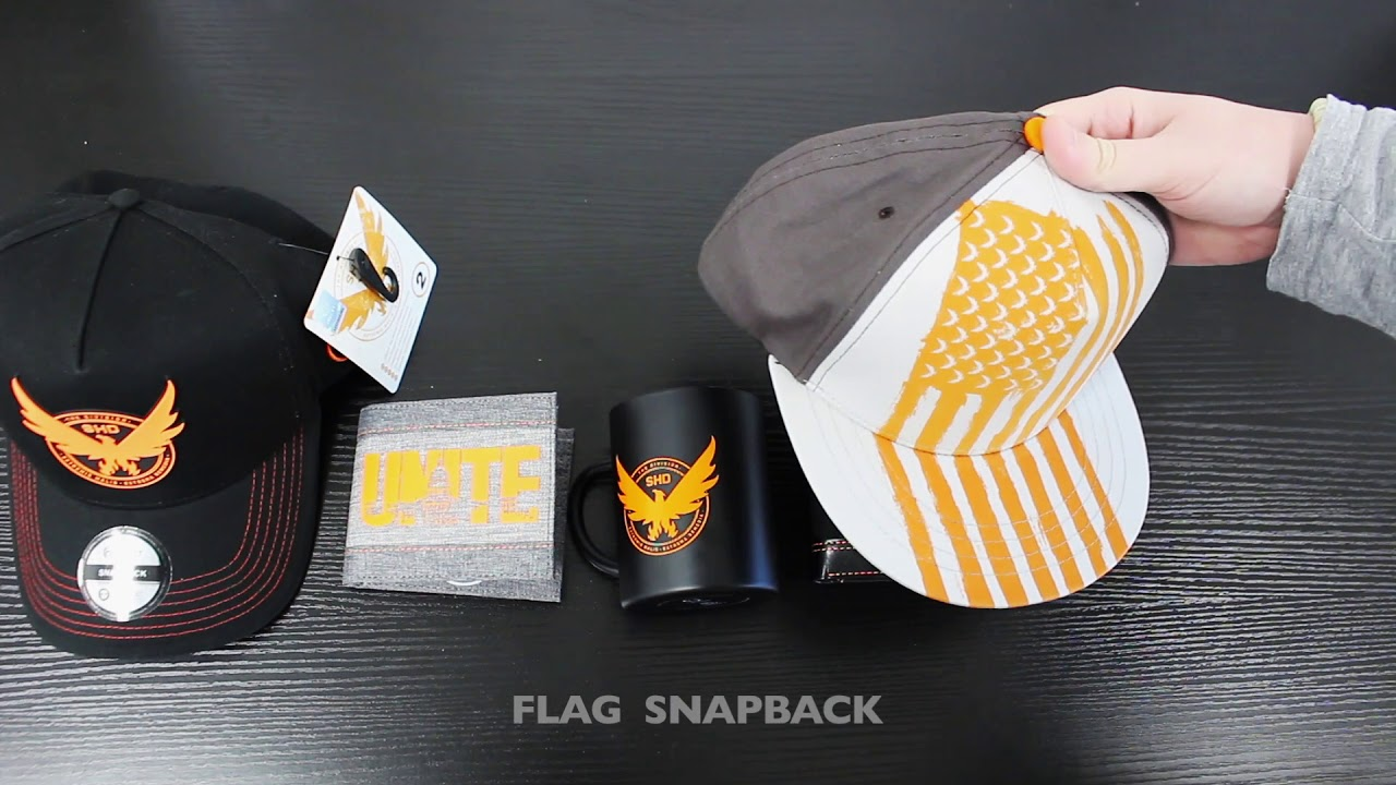 8812909aa25 THE DIVISION 2   One Week Until Launch!   Official Merch! - YouTube