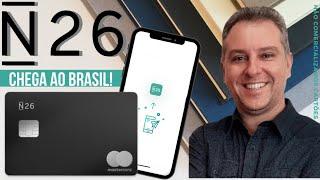💳Rival da Nubank, banco digital alemão N26 chega ao Brasil. Com Cartões Black e de Metal👍🔝