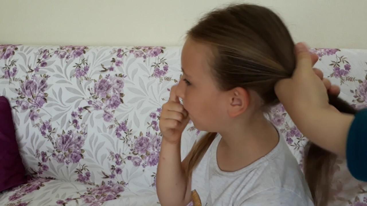 Frozen Anna Saç Modeli Yaptık çocukların Eğlenceli Videoları Youtube