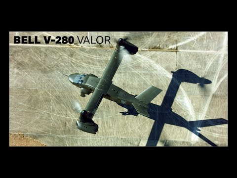 Bell V-280 Valor -- Low-Speed Agility