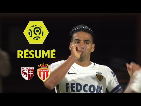 FC Metz - AS Monaco (0-1)  - Résumé - (FCM - ASM) / 2017-18