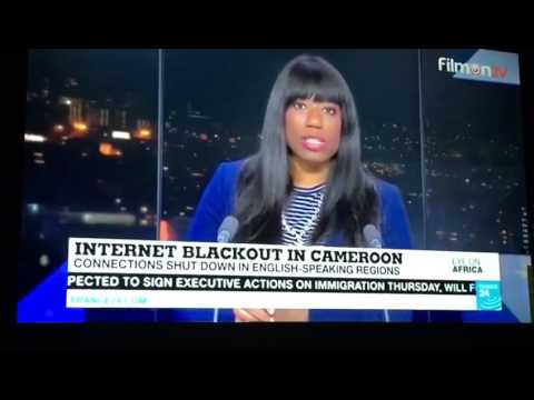 Internet Blackout in Southern Cameroon by the Biya's Regime