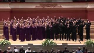Jugendchor Bogazici Jazz Choir/Türkei: Dostluga Davet, EJCF Basel 2016