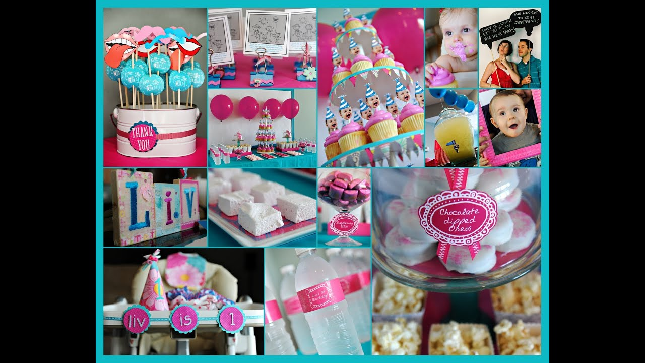 First Birthday Party Ideas 1st
