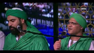 """مساء dmc - فرقة """" الحضرة الصوفية """" يبدعون بأغنية """" ياصاحب القبة الخضراء """""""