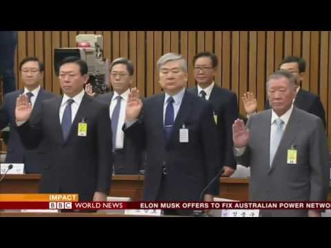 BBC World News Impact - President Park ousted