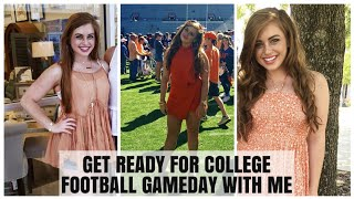 COLLEGE FOOTBALL GAMEDAY | Heat Resistant Hair & Makeup + Gameday Outfit Ideas | Auburn University