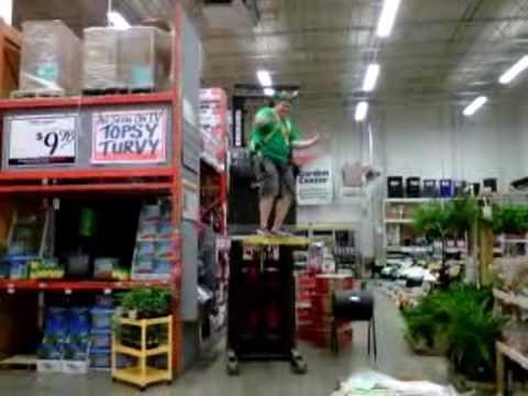 Home Depot after hours Coreyavi YouTube