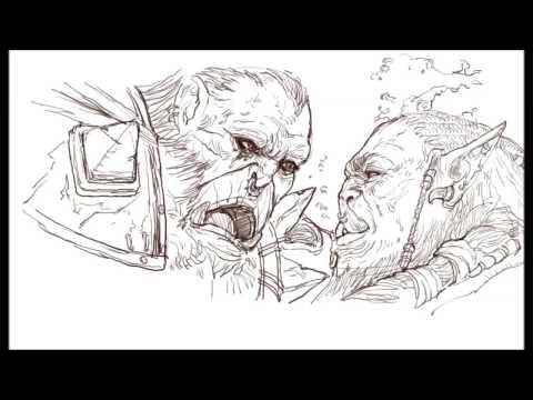 [크리티컬]드로잉 - 워크래프트 - 그림 그리기 [Critical] Warcraft Drawing Speed Drawing