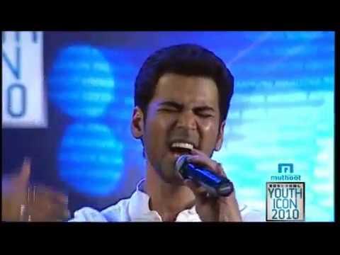 Krish singing Manjal veyil