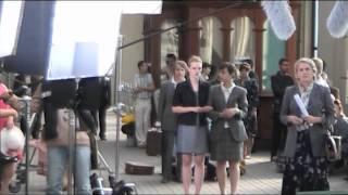 Съёмки сериала Анна Герман
