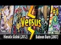 Hieratic Gishki (2012) vs. Baboon Burn (2007) - Cross-Banlist Cup 2017 - Match #1