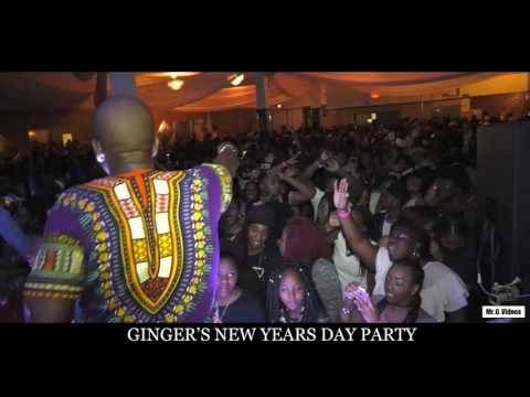 Ginger New Year Party 2017 Junior Martinez
