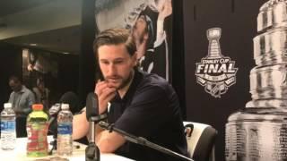2017 Stanley Cup Final: Nashville Predator Filip Forsberg talks about facing the Penguins