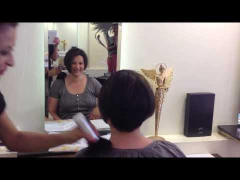 Makeover - fast wie Violeta Kokollari von The Voice - lange haare, kurze Haare - vorher nachher
