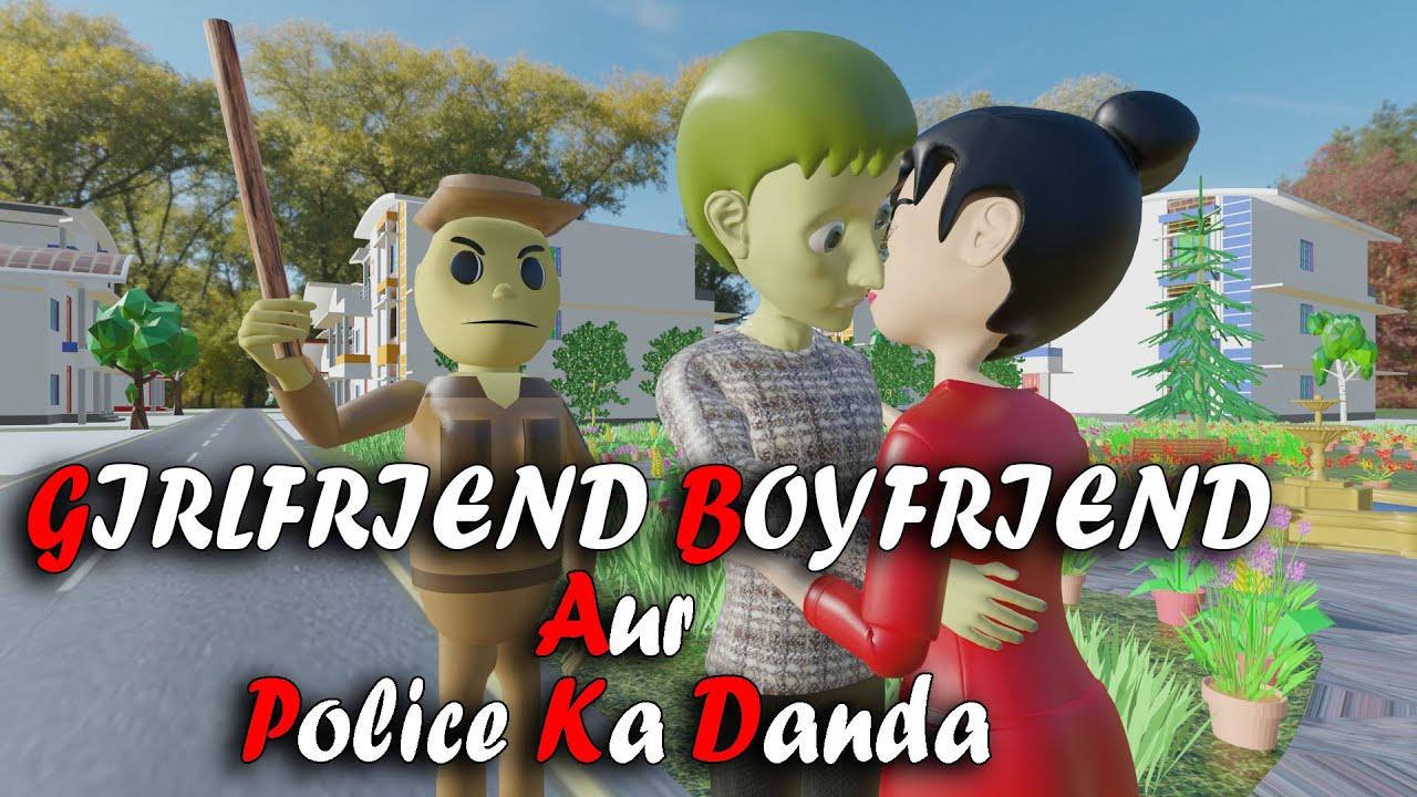 A JOKE OF    GIRLFRIEND BOYFRIEND AUR POLICE KA DANDA - OYO BAND THA    AJO