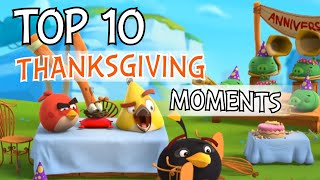 Angry Birds | Top 10 Thanksgiving Moments