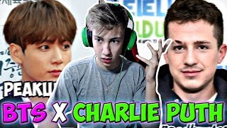 РЕАКЦИЯ BTS x Charlie Puth || We don't talk any more + Fake Love (MGA 2018) l РЕАКЦИЯ K-POP