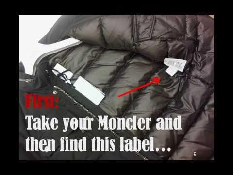 Moncler jacka fake