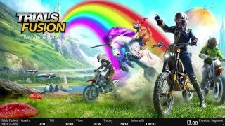 Trials Fusion 100% Speedrun 1:01:48