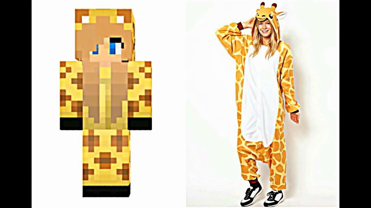 Minecraf Skinleri Gerçek Hayatta Olasaydı? L Minecraft