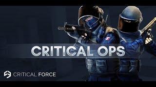 Открываю кейс в Critical Ops и Обзор нового обновления