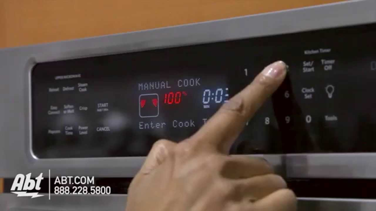 kitchenaid combination oven kems379b overview youtube