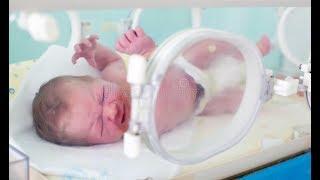 Обложка на видео о В роддоме с куклой реборн / силиконовый реборн / silicone baby reborn
