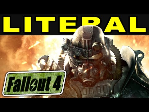 LITERAL Fallout 4 Official Trailer