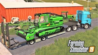 THE TREX600 IS HUNGRY!  - Shamrock Valley 19 - Farming Simulator 2019