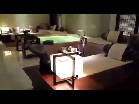 Luxury Hotel room in Macau, China
